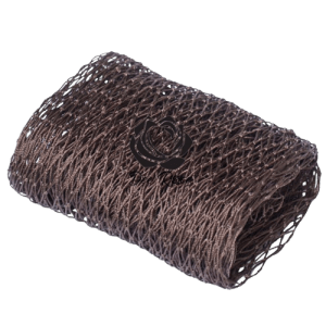brown African Sponges come in 2 types; Exfoliating or Gentle. Great for all skin types. This is one of Africa's best kept beauty secret, used throughout West Africa for centuries to gently scrub and exfoliate the face and body. It helps to remove excess dirt, oil, and dead skin cells; unclog pores; and eliminate impurities from the skin resulting in soft gentle and glowing skin. It lathers like no other and is long lasting. It will elevate your shower/bath experience to another level. The African Exfoliating Sponge struggles to breed bacteria as it is made from nylon mesh which dries very fast. Take your pick from an exclusive rainbow of vibrant colours.
