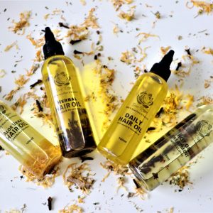 dee rose hair oil infused organic natural family