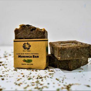 dee rose moringa face soap bar