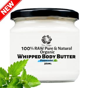 dee rose pepermint whipped body butter